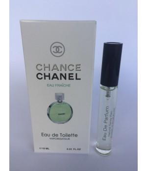 Женский мини парфюм с феромонами Chanel Chance Eau Fraiche (Шанель Шанс Фреш) 10 мл