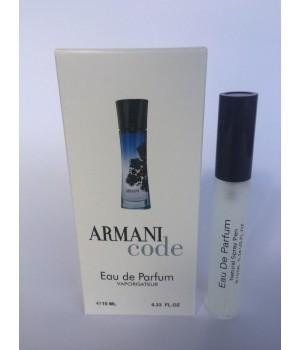 Женский мини парфюм с феромонами Giorgio ArmaniCode women (Джорджио Армани Армани Код Вумэн) 10 мл