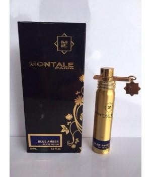 Мини парфюм унисекс Montale Blue Amber (Монталь Блю Амбер) 20 мл