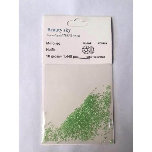 Камни - стразы для дизайна ногтей Beauty Sky (Бьюти Скай) 1440 штук