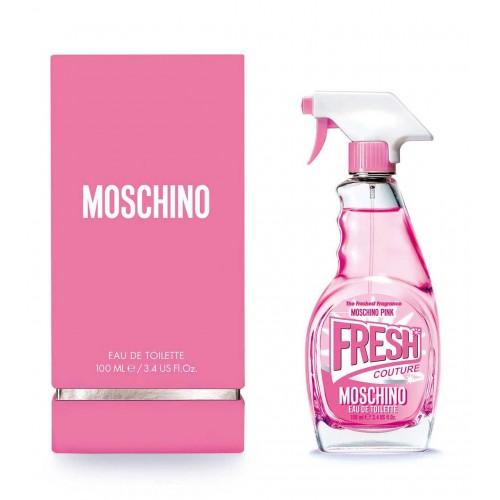 Женская туалетная вода Moschino Pink Fresh Couture Мскино пинк фреш кутюр 100 мл