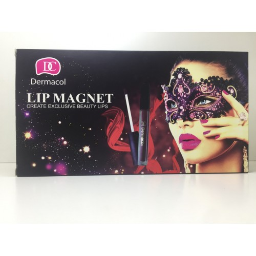 Жидкая матовая помада для губ Dermacol Lip Magnet Create Exclusive Beauty Lips