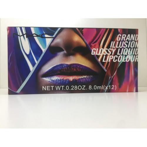 Жидкая матовая помада MAC Grand Illusion Glossy Liquid Lipcоlour