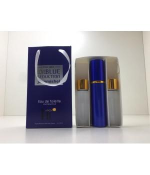 Подарочный набор духов Jeanmishel Blue Seduction for Men (Жанмишель Блю Седакшн фо Мен) 3 по 15 мл