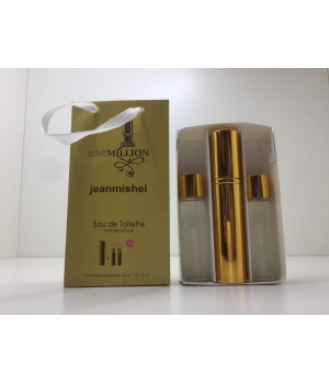 Подарочный набор духов Jeanmishel 1 Million (Жанмишель Ван Миллион) 3 по 15 мл