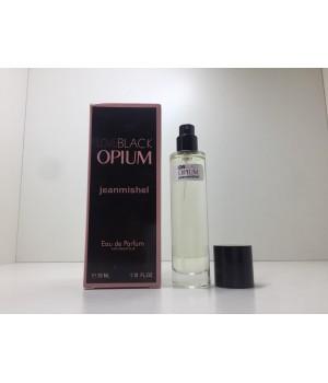 Парфюм женский Jeanmishel Black Opium (Жанмишель Блэк Опиум) 35 мл