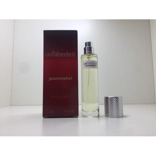 Парфюм мужской Jeanmishel Fahrenheit (Жанмишель Фаренгейт) 35 мл
