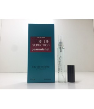 Мини парфюм женский Jeanmishel Blue Seduction (Жанмишель Блю Седакшн) 10 мл