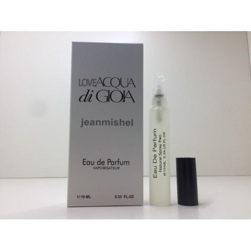 Мини парфюм женский Jeanmishel Acqua di Gioia (Жанмишель Аква ди Джио) 10 мл
