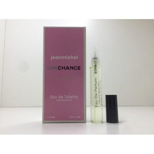 Мини парфюм женский Jeanmishel Chance (Жанмишель Шанс) 10 мл