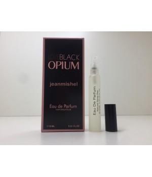 Мини парфюм женский Jeanmishel Black Opium (Жанмишель Блэк Опиум) 10 мл