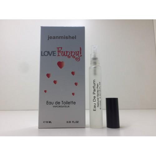 Мини парфюм женский Jeanmishel Funny (Жанмишель Фанни) 10 мл