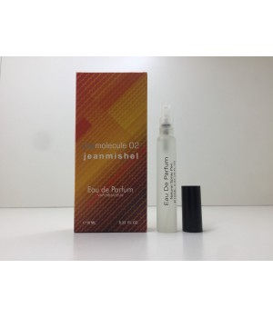 Мини парфюм унисекс Jeanmishel Molecule 02 (Жанмишель Молекула 02) 10 мл