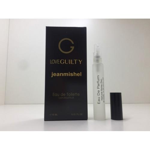 Мини парфюм женский Jeanmishel Guilty (Жанмишель Гилти) 10 мл