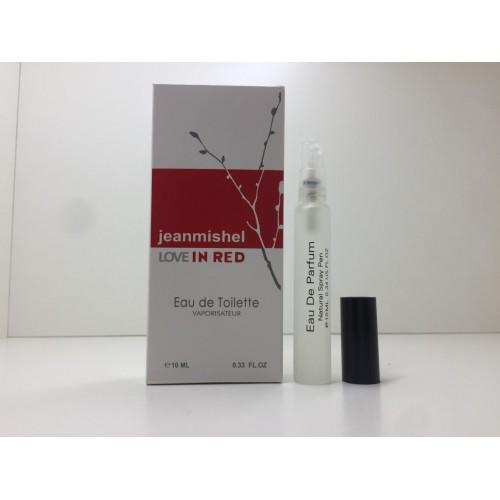 Мини парфюм женский Jeanmishel In Red (Жанмишель Ин Рэд) 10 мл