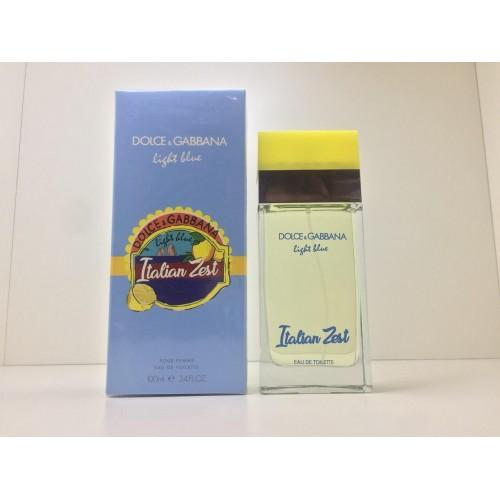 Женская парфюмированная вода Dolce & Gabbana Light Blue Italian Zest (Лайт Блу Италиан Зест) 100 мл