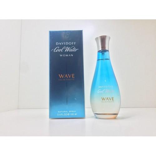 Женская парфюмированная вода Davidoff Cool Water Wave (давидофф кул вейв) 100 мл