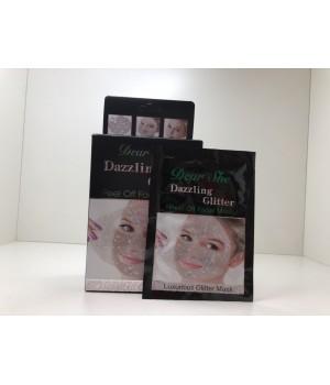 Маска для лица с БЛЕСТКАМИ Dear She Dazzling Glitter Peel Off Facial Mask