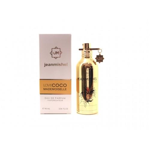 Женский парфюм Jeanmishel Love Coco Mademoiselle (Жанмишель Лав Шанс Мадмуазель) 90 мл