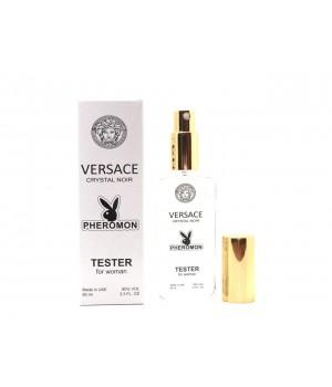 Тестер с феромонами женский Versace Crystal Noir (Версаче Кристал Ноир) 65 мл