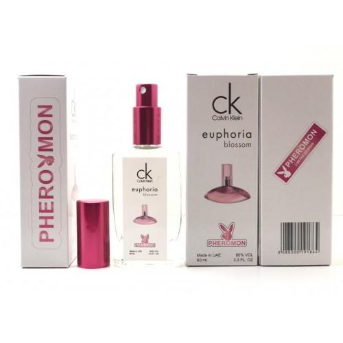 Женский аромат Calvin Klein Euphoria Blossom (Кельвин Кляйн Эйфория Блоссом) с феромоном 60 мл