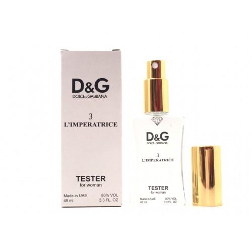 Женский парфюм Dolce&Gabbana L`Imperatrice 3 (Дольче Габбана Императрица) 45 мл Diamond - реплика