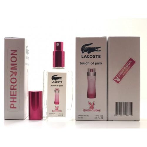 Женский аромат Lacoste Touch of Pink (Лакоста Тач Оф Пинк) с феромонами 60 мл