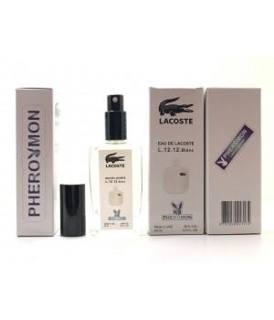 Мужской аромат Lacoste Eau De L.12.12 Blanc (Лакоста Бланк) с феромонами 60 мл