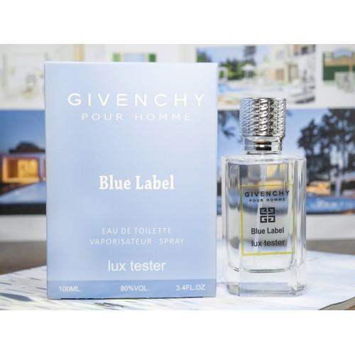 Мужской парфюм Givenchy Blue Label Pour Homme LUX  (Живанши Блю Лейбл Пур Хом) 100 мл