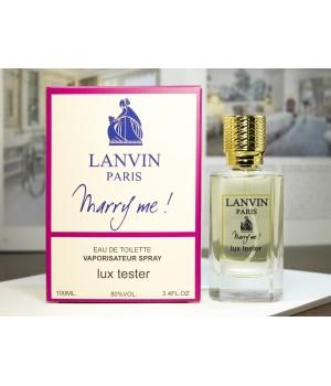 Женский парфюм Lanvin Marry Me LUX (Ланвин Мери Ми) 100 мл