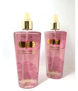 Парфюмированный спрей для тела Victoria's Secret Strawberry & Champagne 250 мл